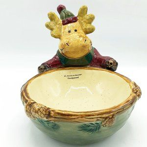 St Nicholas Square Woodland Moose Treat Bowl